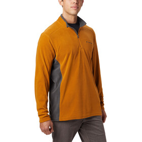 Columbia Klamath Range II Half-Zip Herren burnished amber/shark